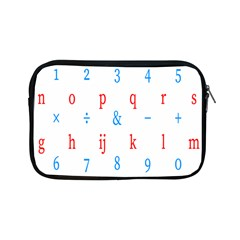 Source Serif Number Apple Ipad Mini Zipper Cases by Mariart