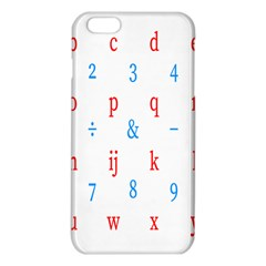 Source Serif Number Iphone 6 Plus/6s Plus Tpu Case by Mariart