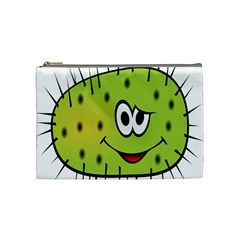 Thorn Face Mask Animals Monster Green Polka Cosmetic Bag (medium)  by Mariart