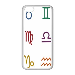 Twelve Signs Zodiac Color Star Apple Iphone 5c Seamless Case (white) by Mariart