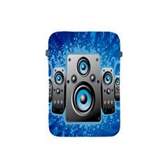 Sound System Music Disco Party Apple Ipad Mini Protective Soft Cases by Mariart