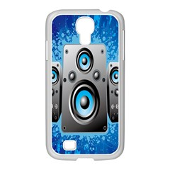 Sound System Music Disco Party Samsung Galaxy S4 I9500/ I9505 Case (white) by Mariart