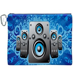Sound System Music Disco Party Canvas Cosmetic Bag (xxxl) by Mariart