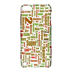 Screen Source Serif Text Apple Ipod Touch 5 Hardshell Case With Stand by Mariart