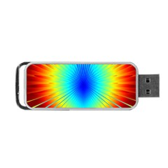 View Max Gain Resize Flower Floral Light Line Chevron Portable Usb Flash (two Sides) by Mariart