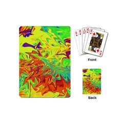 Colors Playing Cards (mini)  by Valentinaart