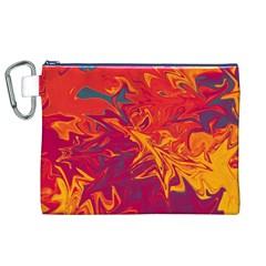Colors Canvas Cosmetic Bag (XL)