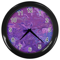 Colors Wall Clocks (black) by Valentinaart