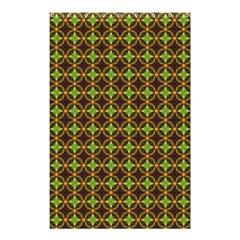 Kiwi Like Pattern Shower Curtain 48  X 72  (small)  by linceazul