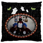 Halloween Spider Web Pillow - Large Cushion Case (Two Sides)