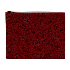 Red Roses Field Cosmetic Bag (xl) by designworld65
