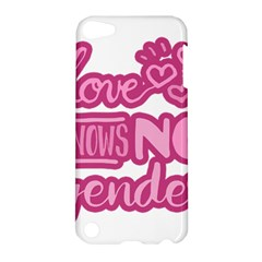 Love Knows No Gender Apple Ipod Touch 5 Hardshell Case by Valentinaart