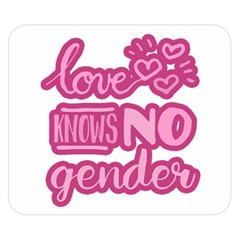 Love Knows No Gender Double Sided Flano Blanket (small)  by Valentinaart