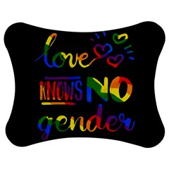 Love Knows No Gender Jigsaw Puzzle Photo Stand (bow) by Valentinaart