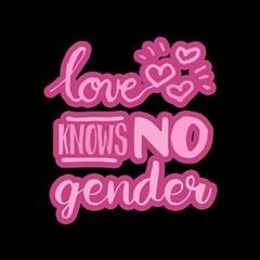 Love Knows No Gender Magic Photo Cubes by Valentinaart