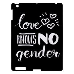 Love Knows No Gender Apple Ipad 3/4 Hardshell Case by Valentinaart