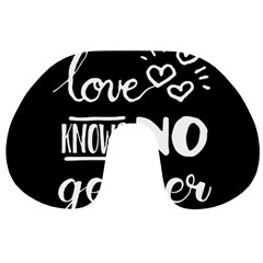 Love knows no gender Travel Neck Pillows