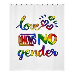 Love Knows No Gender Shower Curtain 60  X 72  (medium)  by Valentinaart