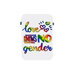 Love Knows No Gender Apple Ipad Mini Protective Soft Cases by Valentinaart