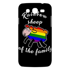 Rainbow Sheep Samsung Galaxy Mega 5 8 I9152 Hardshell Case  by Valentinaart