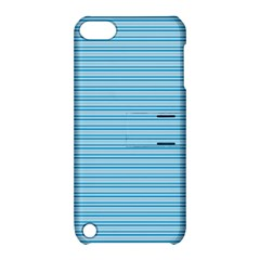 Lines Pattern Apple Ipod Touch 5 Hardshell Case With Stand by Valentinaart