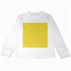 Lines Pattern Kids Long Sleeve T Shirts by Valentinaart