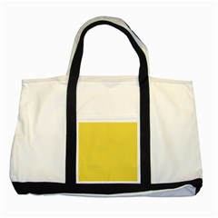 Lines Pattern Two Tone Tote Bag by Valentinaart
