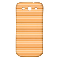 Lines Pattern Samsung Galaxy S3 S Iii Classic Hardshell Back Case by Valentinaart