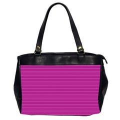 Lines Pattern Office Handbags (2 Sides)  by Valentinaart
