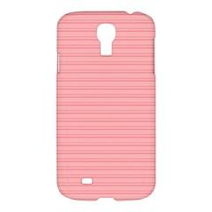 Lines Pattern Samsung Galaxy S4 I9500/i9505 Hardshell Case by Valentinaart