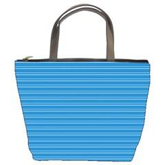 Lines Pattern Bucket Bags by Valentinaart