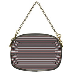 Lines Pattern Chain Purses (one Side)  by Valentinaart