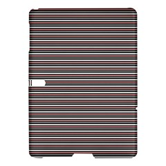 Lines Pattern Samsung Galaxy Tab S (10 5 ) Hardshell Case  by Valentinaart