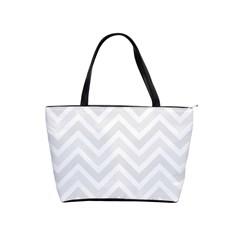 Zigzag  Pattern Shoulder Handbags by Valentinaart
