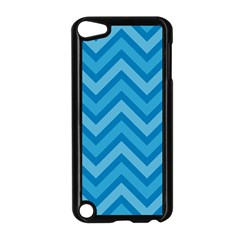 Zigzag  Pattern Apple Ipod Touch 5 Case (black) by Valentinaart