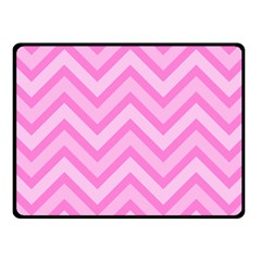 Zigzag  Pattern Fleece Blanket (small) by Valentinaart
