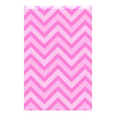 Zigzag  Pattern Shower Curtain 48  X 72  (small)  by Valentinaart