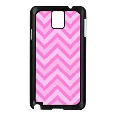 Zigzag  Pattern Samsung Galaxy Note 3 N9005 Case (black) by Valentinaart