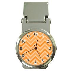 Zigzag  Pattern Money Clip Watches by Valentinaart