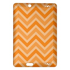 Zigzag  Pattern Amazon Kindle Fire Hd (2013) Hardshell Case by Valentinaart