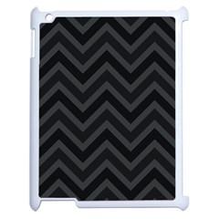 Zigzag  Pattern Apple Ipad 2 Case (white) by Valentinaart