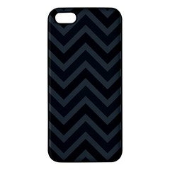 Zigzag  Pattern Apple Iphone 5 Premium Hardshell Case by Valentinaart