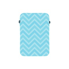 Zigzag  Pattern Apple Ipad Mini Protective Soft Cases by Valentinaart