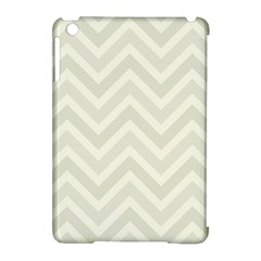 Zigzag  Pattern Apple Ipad Mini Hardshell Case (compatible With Smart Cover) by Valentinaart