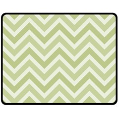 Zigzag  Pattern Fleece Blanket (medium)  by Valentinaart