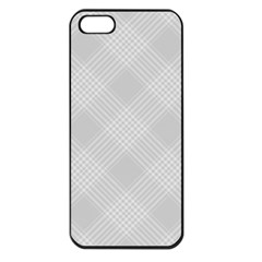 Zigzag  Pattern Apple Iphone 5 Seamless Case (black) by Valentinaart