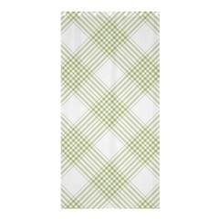 Zigzag  Pattern Shower Curtain 36  X 72  (stall)  by Valentinaart