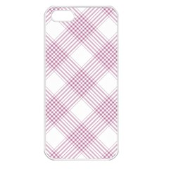 Zigzag Pattern Apple Iphone 5 Seamless Case (white) by Valentinaart