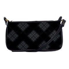 Zigzag Pattern Shoulder Clutch Bags by Valentinaart