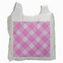 Zigzag Pattern Recycle Bag (one Side) by Valentinaart